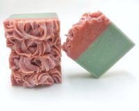 Sandalwood w/Rose Petals Vegan Soap