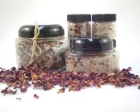 Rose Lavender and Calendula Bathing Salts