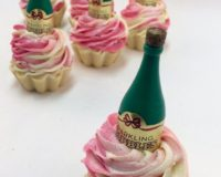 Strawberry Champagne Signature Cupcake