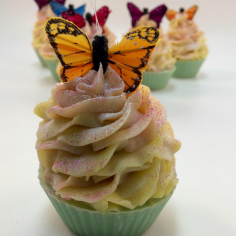 Butterfly Kisses Cupcake