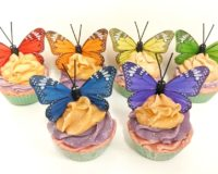 Butterfly Cupcake Soaps