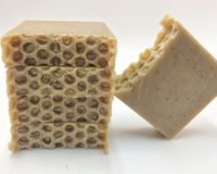 Oatmeal, Milk and Honey Soap - Honeycomb Style
