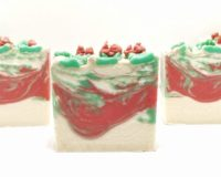 Holly Berry Vegan Soap